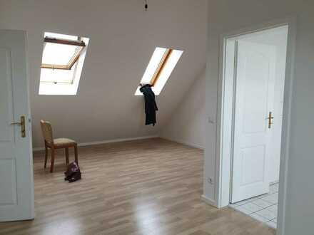 Sonnige DG-Wohnung mit trennbarem Wohn- und Schlafbereich in Döbeln