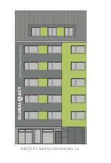 Beste Südstadtlage! *3-Zimmer-Wohnung im Karolingerring 19 zu verkaufen*