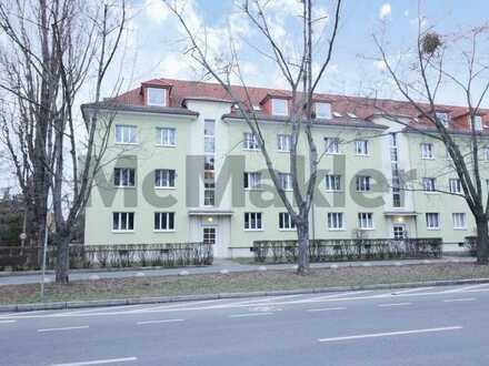 Attraktive Kapitalanlage: Modernisierte 2-Zimmer-Erdgeschosswohnung mit Balkon in Dresden-Seidnitz