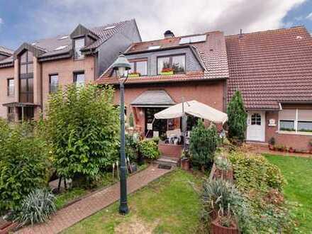 Großzügiges und gepflegtes Reihenmittelhaus mit Doppelgarage in Duisburg-Huckingen zu verkaufen !!