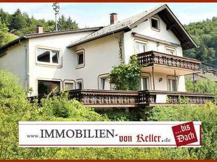 """Gelegenheit: 3 Familienhaus + Bauland = 1339 m² """"NEU Gesamtpreis: 470.000,-€"""" beste Hanglage"""