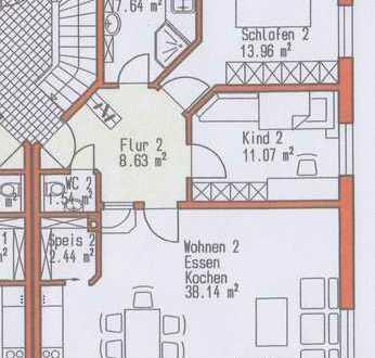 3 Zimmer EG-Wohnung zu vermieten