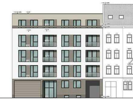 Grundstück mit Baugenehmigung für Bestandshaus und Neubau mit insg. 1260m² Wohnfläche