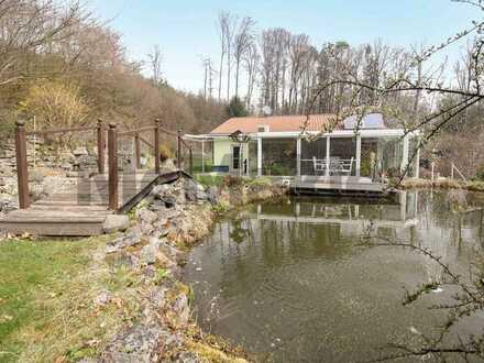 Ihr luxuriöses Wohnerlebnis inklusive Wellnessbereich, Pool und weitläufigem Gartengrundstück