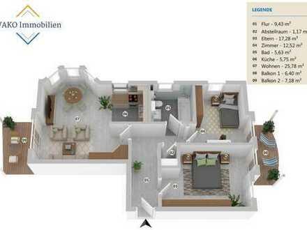 3 Zi.-Wohnung mit TG Stellplatz in Bad Friedrichshall