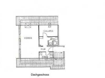 Erstbezug nach Sanierung, 2 Zimmer-Dachgeschoss