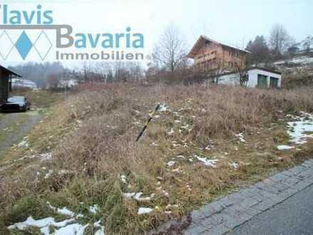 RESERVIERT! Bad Griesbach: schönes großes Baugrundstück in ruhiger, sonniger Südhang- Lage