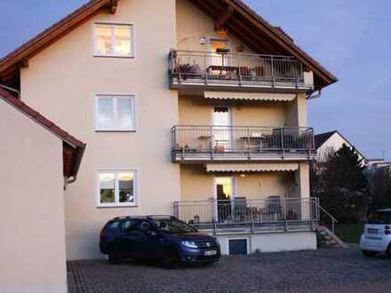 Gepflegte 4-Zimmer-Wohnung mit Balkon in Hallstadt