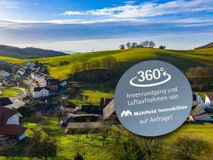 Großes Reiheneckhaus mit toller Fernsicht in Unter-Abtsteinach!