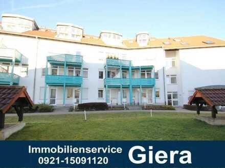 Vermietete 1-Zimmer-EG-Wohnung mit Terrasse am Roten Hügel