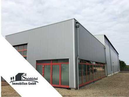 Neuwertige Lager- und Produktionshalle mit Büroflächen