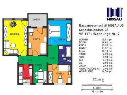 4-Zimmer-Wohnung in Singen-Nord