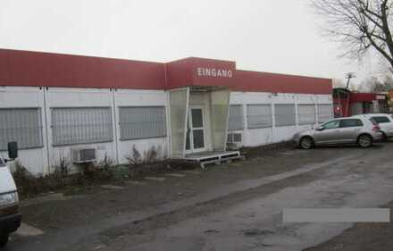 Straßenlage: Halle, Büros und Freifläche für Gewerbe im Industriegebiet Nordost