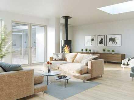 Exklusives Penthouse mit Blick über das Rheintal - hier lässt es sich leben!