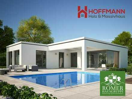 Romola Bungalow, 108,88 m², Schlüsselfertig ohne Grundstück - 36cm Aussenwanddämmung