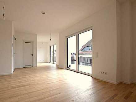 BEREITS VERMIETET: 3ZKB Penthouse-Wohnung, 22,4 m² Dachterrasse, Stellplatz, Aufzug * Erstbezug