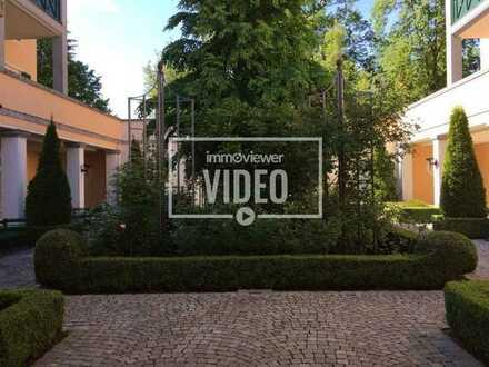 Elegante, luxuriös ausgestattete Wohnung - kpl. möbliert - in herrlicher Lage direkt am Kurpark!