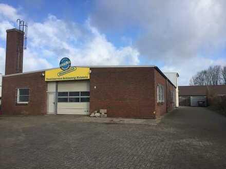 Kiel-Suchsdorf vielseitig nutzbare Halle mit Bürotrakt im Gewerbegebiet mit sehr guter Infrastruktur
