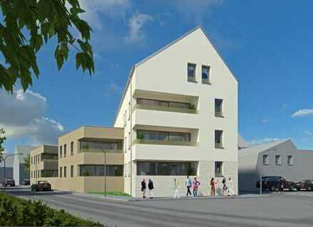 Moderne 2-Zimmer-Neubauwohnung mit Loggia und Gartenanteil