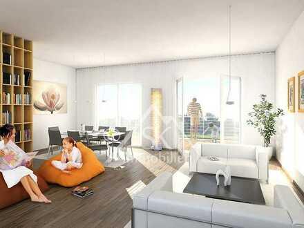 Frei bemustar u. exklusiv: 3-Zi-OG-Neubauwohnung. mit Balkon, Garten, Aufzug, ca. 85 m² Wfl.