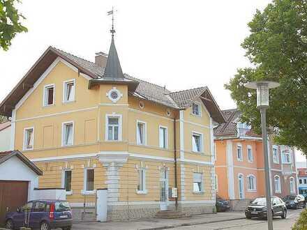 5 % Mietrendite & provisionsfrei ! Schönes historisches Mehrfamilienhaus im Zentrum Marktoberdorf