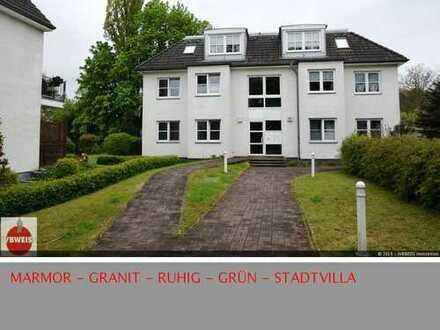 Furnished! Möblierte Luxuswohnung in Stadtvilla in grüner Lage nahe Fauler See