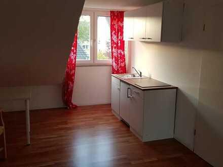 Möbliertes 30 qm 1-Zimmer-Apartment mit eigenem Bad in D-Benrath