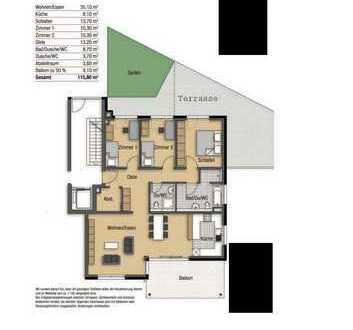 Schöne große helle 4-Zimmer Wohnung in Weil der Stadt, Kreis Böblingen
