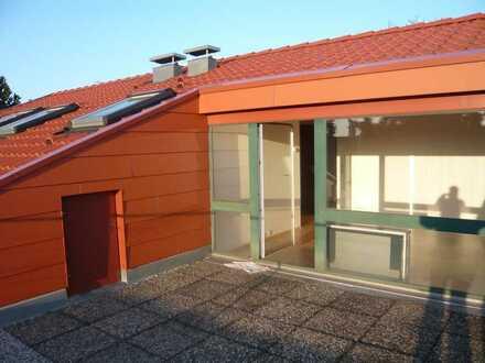1 Zimmer Apartment mit großer Dachterrasse! Ideal für Pendler