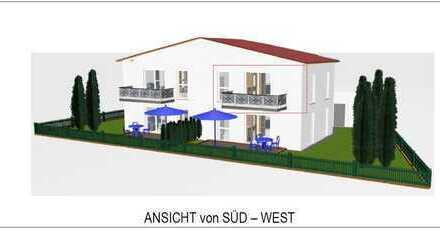 Sonnige Neubau Eigentumswohnung im Neubaugebiet Edelsfeld West mit 78,12 m² im 1. OG