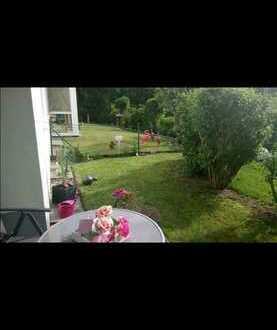 Gepflegte 2-Raum-Wohnung mit Terrasse und Einbauküche in Essing