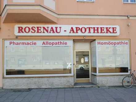 *** Ladengeschäft / Gewerbefläche mit großem Schaufenster in der Pferseerstraße !!! ***