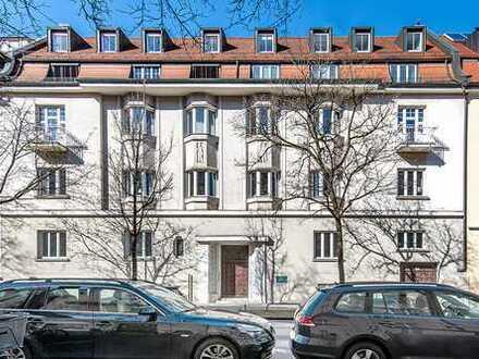 Jugendstil-Wohnung mit 5 Zimmern und Kamin