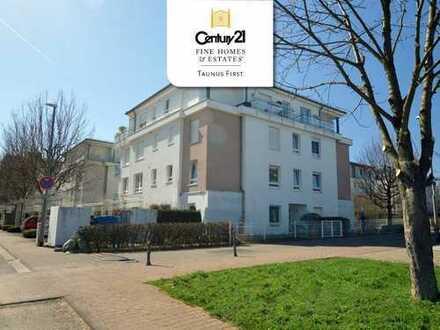 Top-Zustand: Sehr schön geschnittene 3 Zimmer Wohnung, Balkon, 2 TG-Stellplätze, Hattersheim am Main