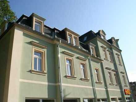 Radebeul - schöne, sehr hochwertige 2 Raumwohnung mit Parkett & Balkon zu vermieten