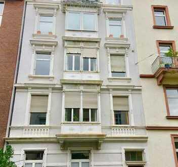 Schöne Stilaltbau EG Wohnung mit Terrasse und Garten in ruhiger Lage - Nordend West