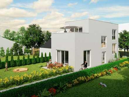 Attraktives Einfamilienhaus in kleiner Neubauanlage am Rhein