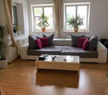 Ruhige (möblierte) 2-Zimmer Wohnung mit großem Balkon in Augsburg, Haunstetten
