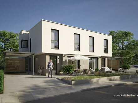 Moderne Neubau-Doppelhaushälfte! - Schlüsselfertig - Massiv - KfW 55