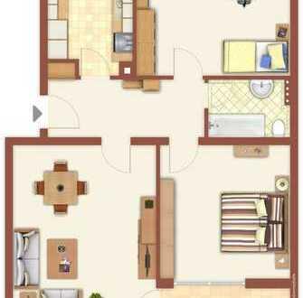 Ruhig gelegene 3 Zimmer Wohnung