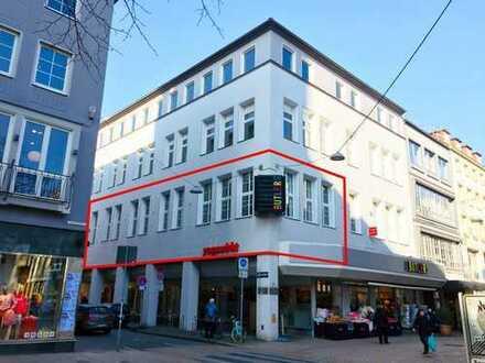Teilanmietung einer modernisierten Büro-/Praxisfläche oder Studio in bester Innenstadtlage!