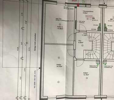 Schönes neues Reiheneckhaus in Bauphase mit sechs Zimmern in Kaufbeuren,