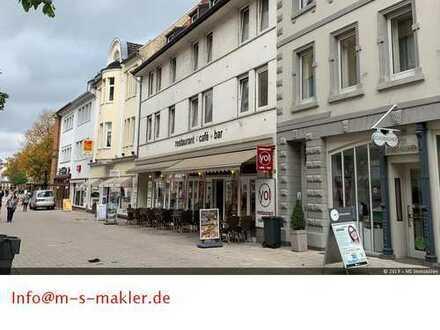 Volltreffer für Kapitalanleger Gewerbe /- Wohnhaus in der Fußgängerzone von Bad Salzuflen