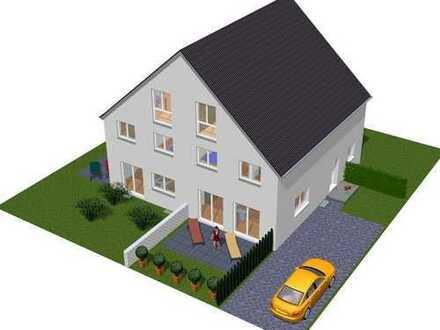 Doppelhaushälfte, wohnen in grüner, stadtnaher Lage. Provisionsfrei