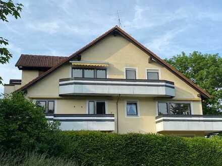 2 ZKB-DG-Mietwohnung, einmalige, naturnahe Lage, 2. OG ohne Lift, Süd und Westbalkon mit Garage