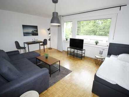 *City Apartment* 1 Zimmer-EG-Apartment Möbliert inkl. W-Lan, TV & Strom