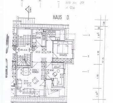 Schöne drei Zimmer Wohnung in Eisfeld - Kreis Hildburghausen
