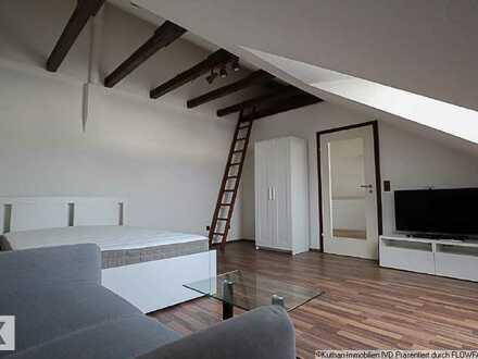 Vollmöbilierte 1-Zimmerwohnung mit Einbauküche!