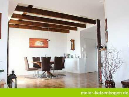 Großzügige 2-Zimmerwohnung mit Dachterrasse