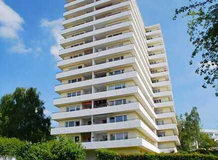 3 Zimmer Wohnung in ruhiger Lage mit umlaufenden großen Balkon und TG Stellplatz